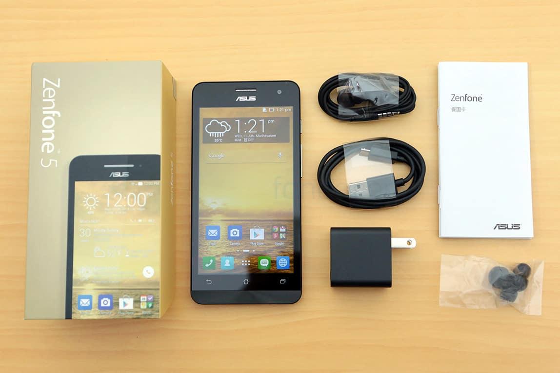 ASUS Zenfone 5 – ביקורת – אסוס זנפון 5